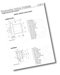 Commutator & Slipring Survey Sheet